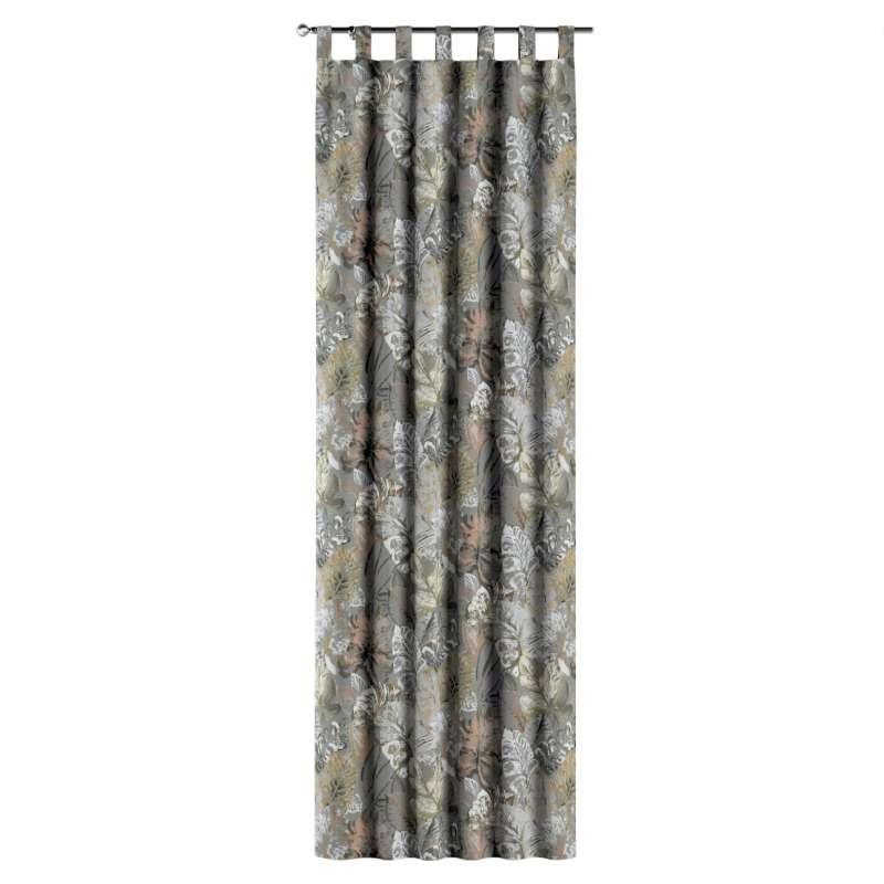 Gardin med hällor 1 längd i kollektionen Abigail, Tyg: 143-19
