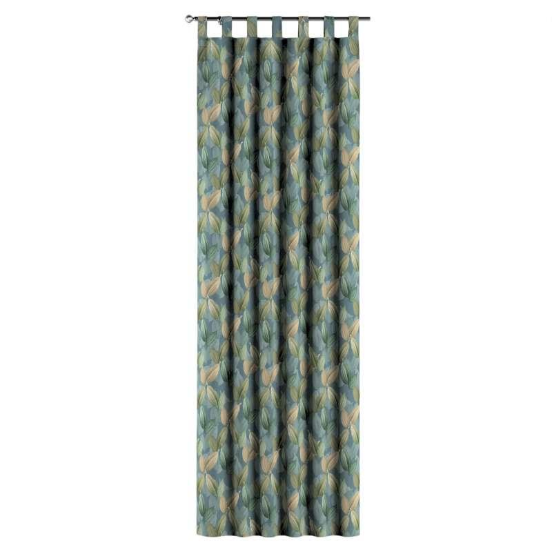 Zasłona na szelkach 1 szt. w kolekcji Abigail, tkanina: 143-20