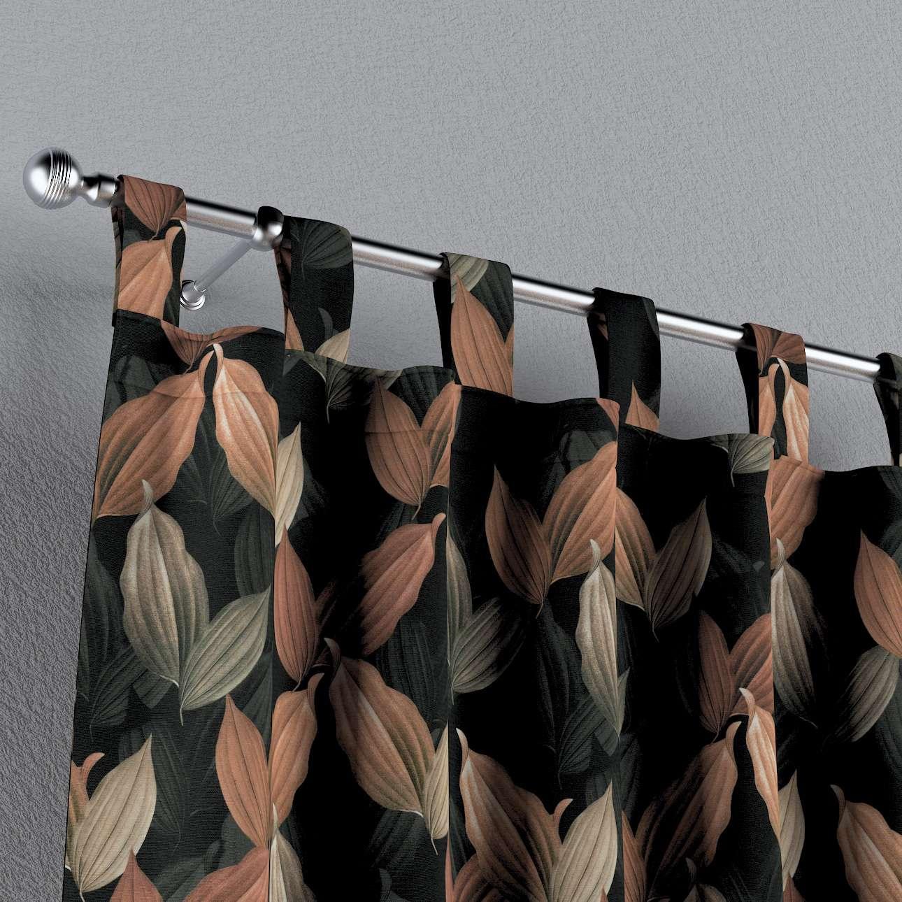 Zasłona na szelkach 1 szt. w kolekcji Abigail, tkanina: 143-21