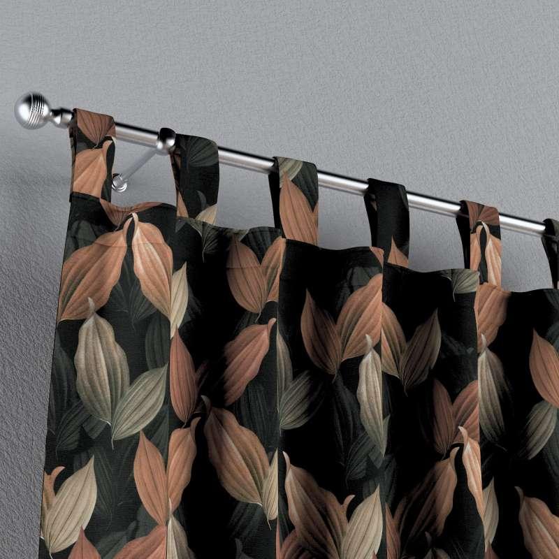 Gardin med hällor 1 längd i kollektionen Abigail, Tyg: 143-21