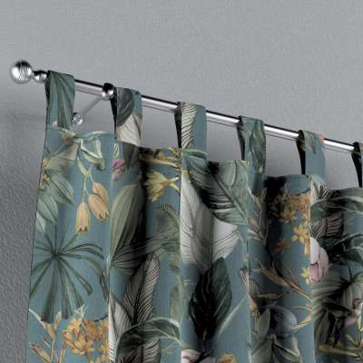 Zasłona na szelkach 1 szt. w kolekcji Abigail, tkanina: 143-24