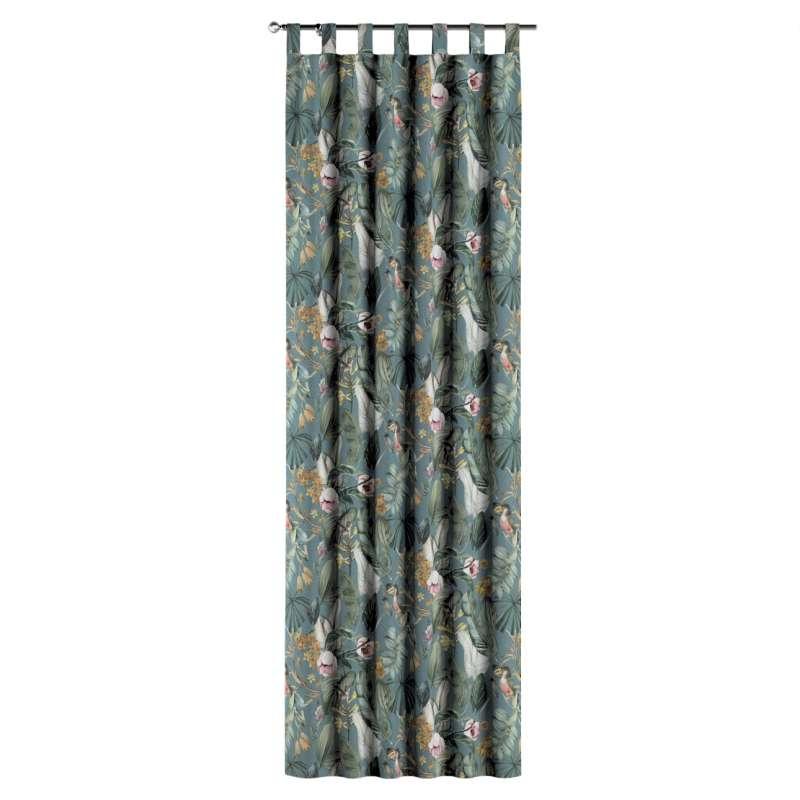 Gardin med hällor 1 längd i kollektionen Abigail, Tyg: 143-24