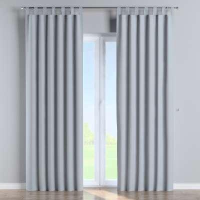 Tab top curtain