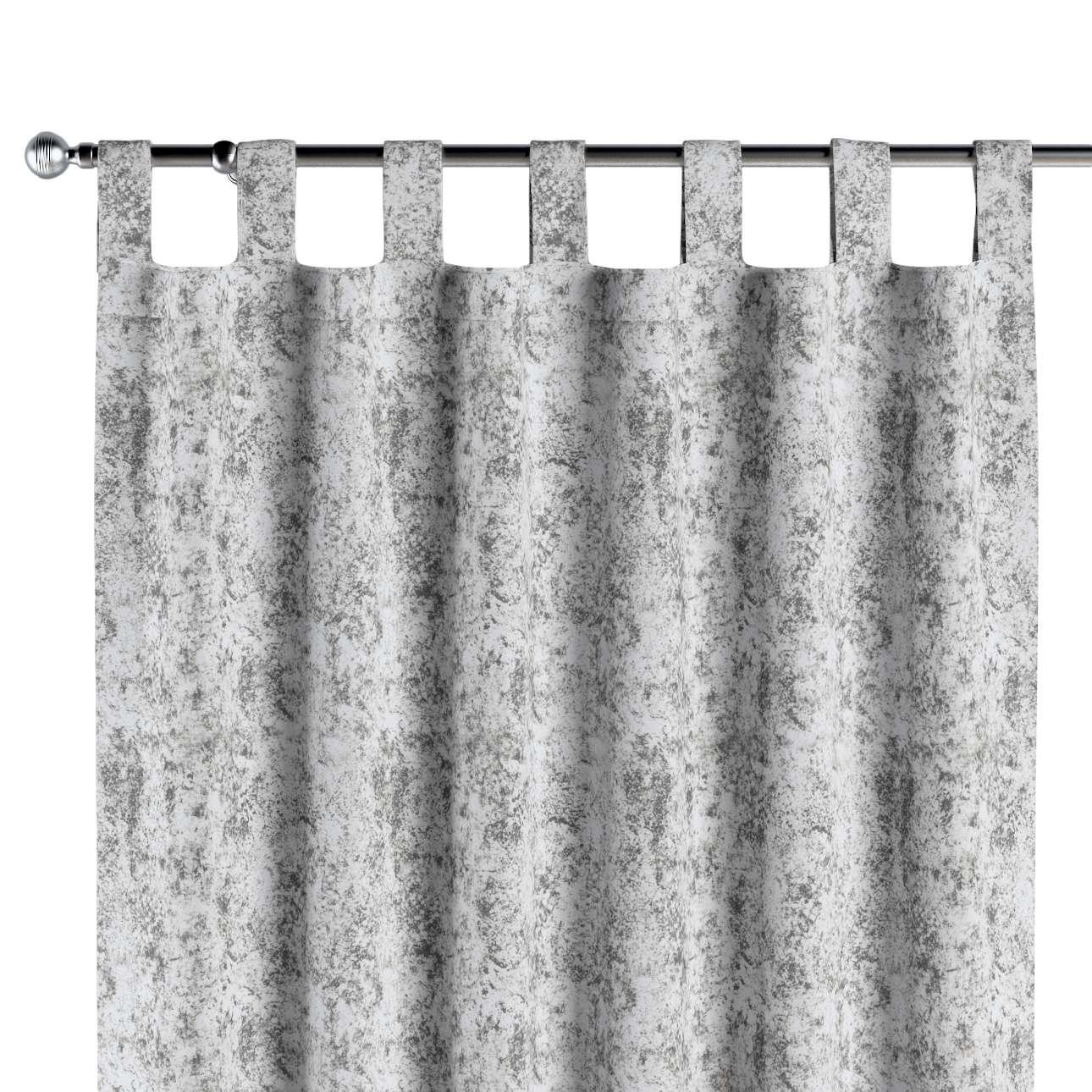 Zasłona na szelkach 1 szt. w kolekcji Velvet, tkanina: 704-49