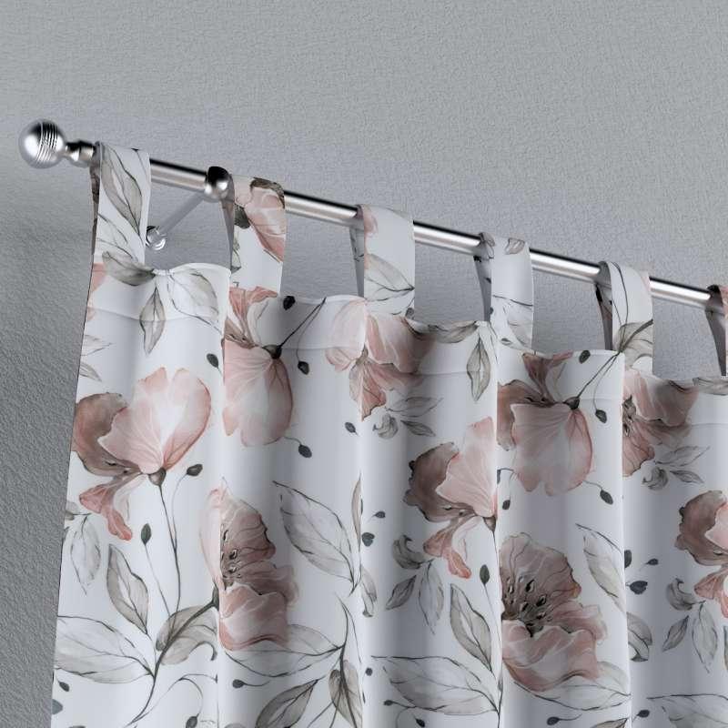 Zasłona na szelkach 1 szt. w kolekcji Velvet, tkanina: 704-50