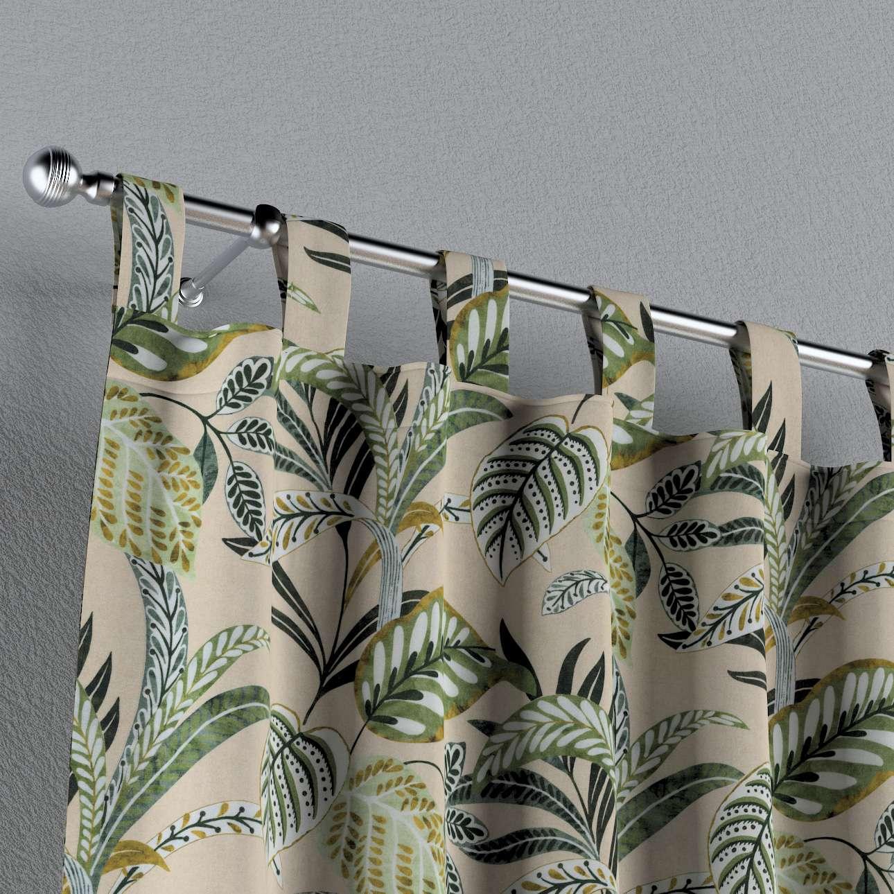 Záves na pútkach V kolekcii Tropical Island, tkanina: 142-96
