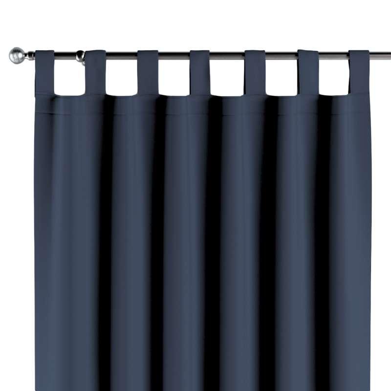 Zasłona na szelkach 1 szt. w kolekcji Blackout - zaciemniające, tkanina: 269-16