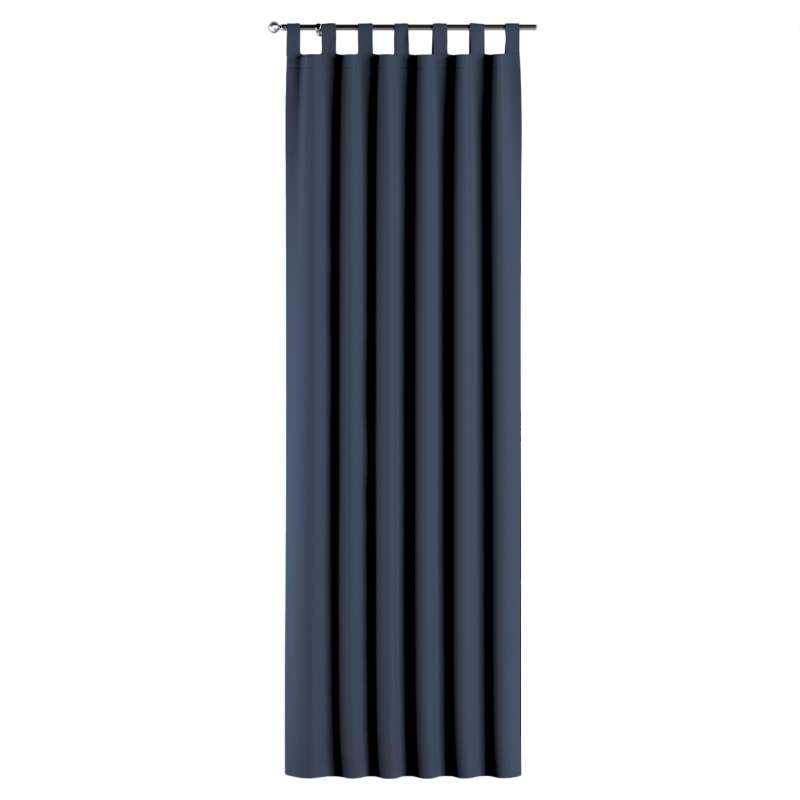 Gardin med stropper 1 stk. fra kollektionen Blackout mørklægning, Stof: 269-16