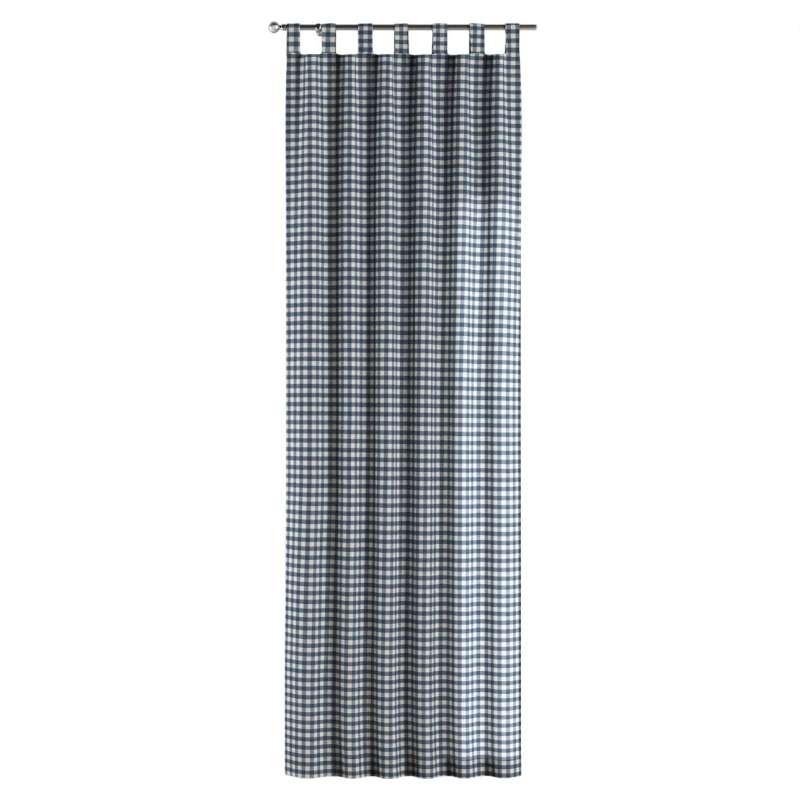 Gardin med stropper 1 stk. fra kollektionen Quadro II, Stof: 136-01