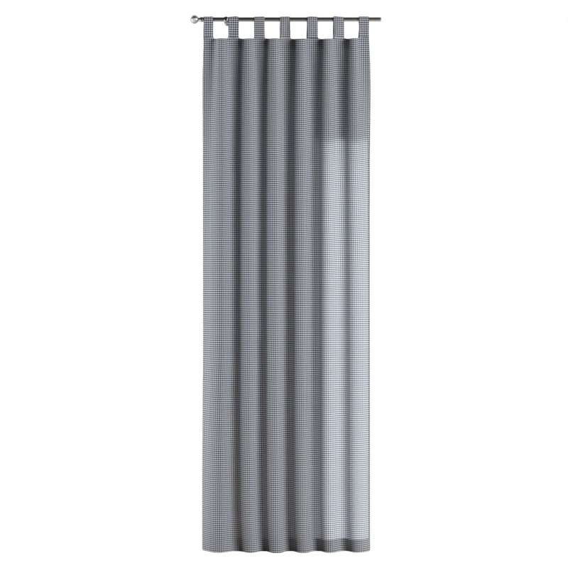 Gardin med stropper 1 stk. fra kollektionen Quadro II, Stof: 136-00