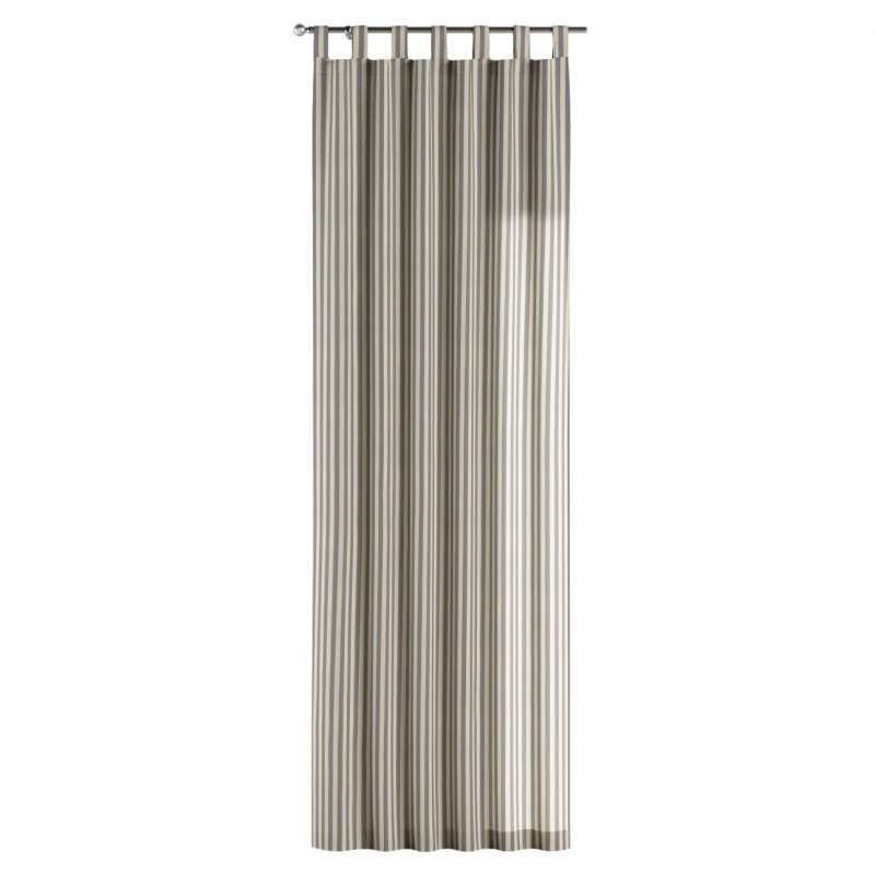 Gardin med stropper 1 stk. fra kollektionen Quadro II, Stof: 136-02