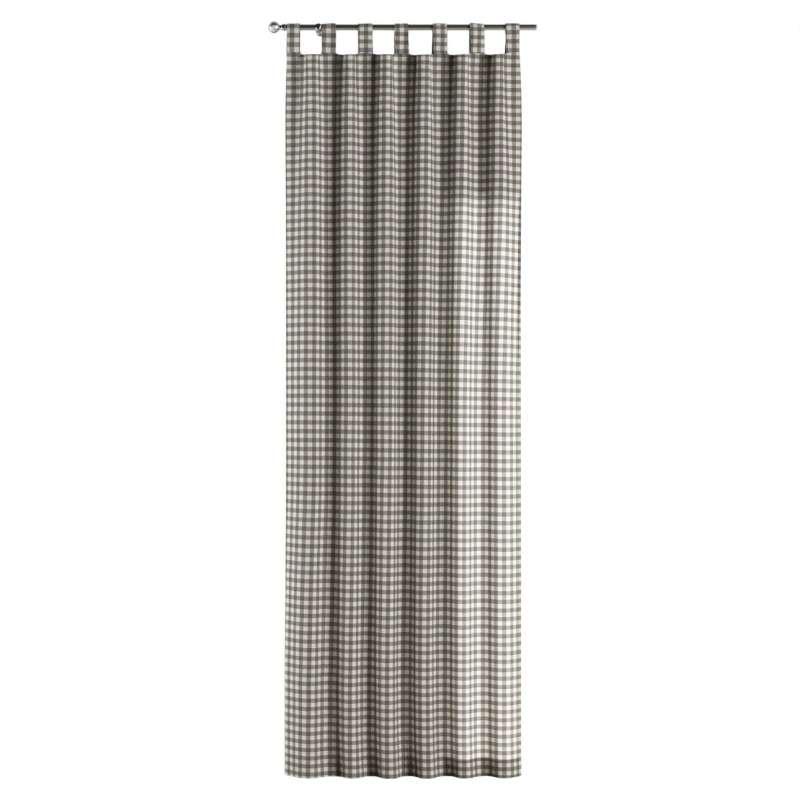 Gardin med stropper 1 stk. fra kollektionen Quadro II, Stof: 136-11