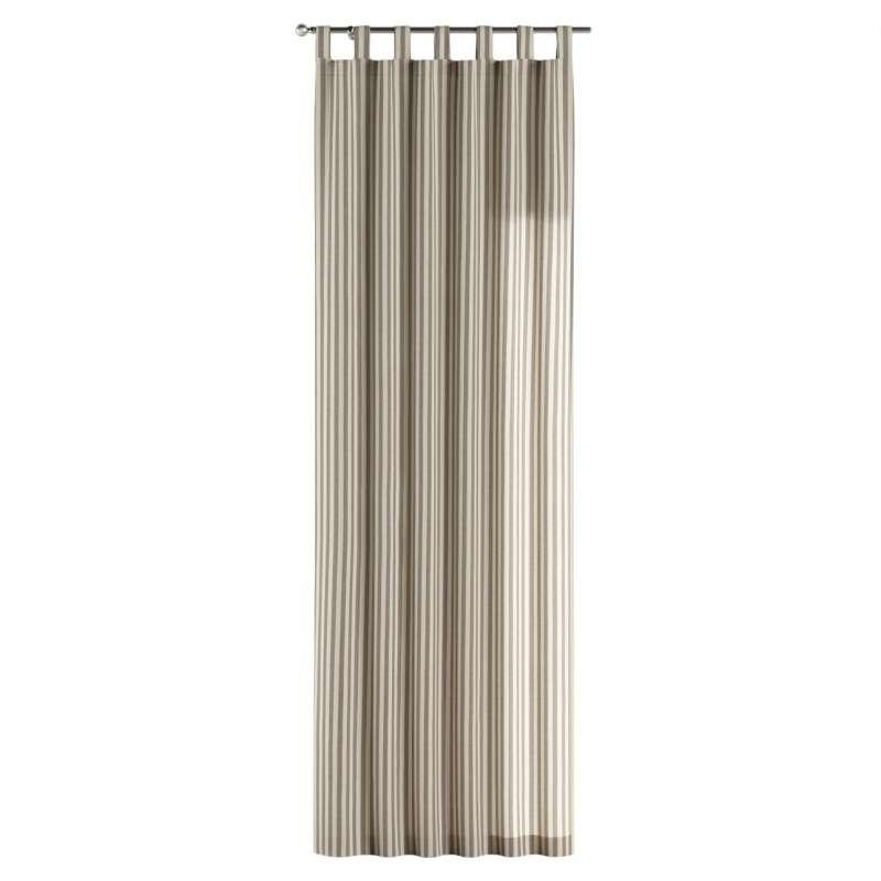 Gardin med stropper 1 stk. fra kollektionen Quadro II, Stof: 136-12