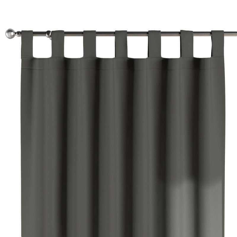 Gardin med stropper 1 stk. fra kollektionen Quadro II, Stof: 136-14