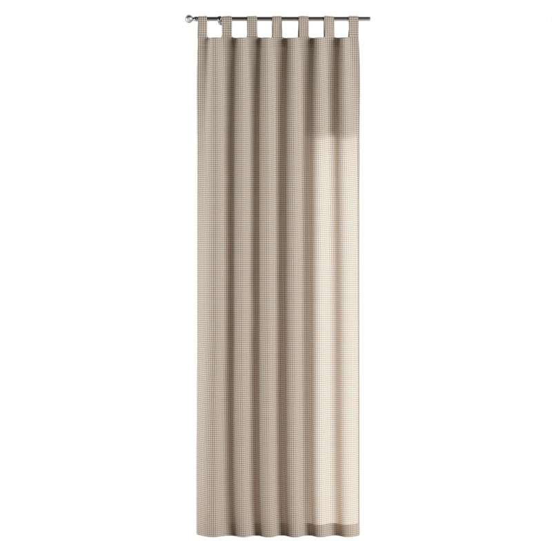Gardin med stropper 1 stk. fra kollektionen Quadro II, Stof: 136-05