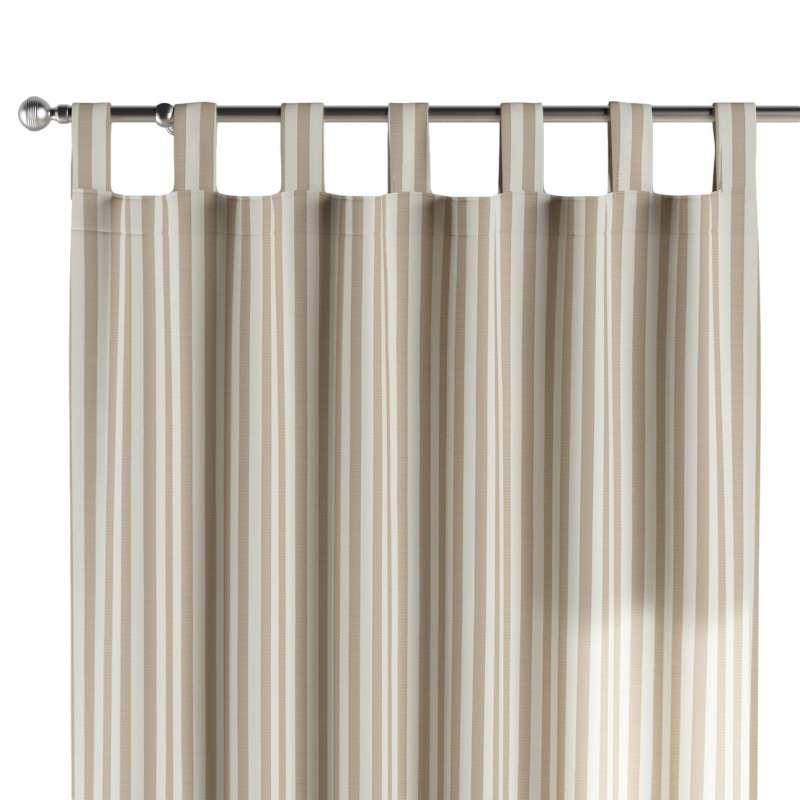 Gardin med stropper 1 stk. fra kollektionen Quadro II, Stof: 136-07