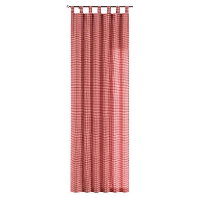 Gardin med stropper 1 stk. fra kollektionen Quadro II, Stof: 136-15