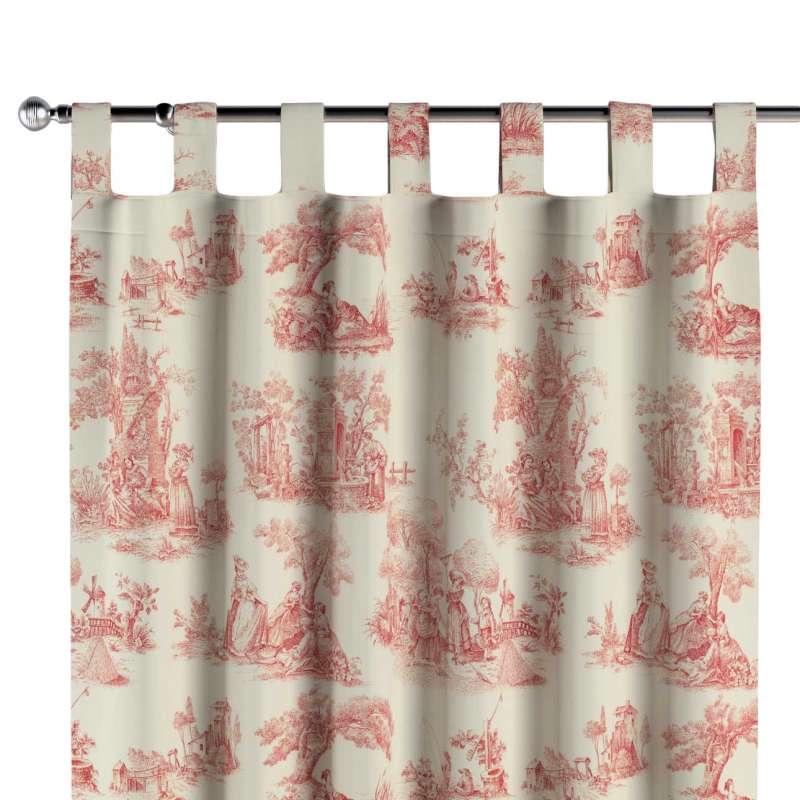 Zasłona na szelkach 1 szt. w kolekcji Avinon, tkanina: 132-15