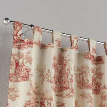 Tab top curtains 130 x 260 cm (51 x 102 inch) in collection Avinon, fabric: 132-15