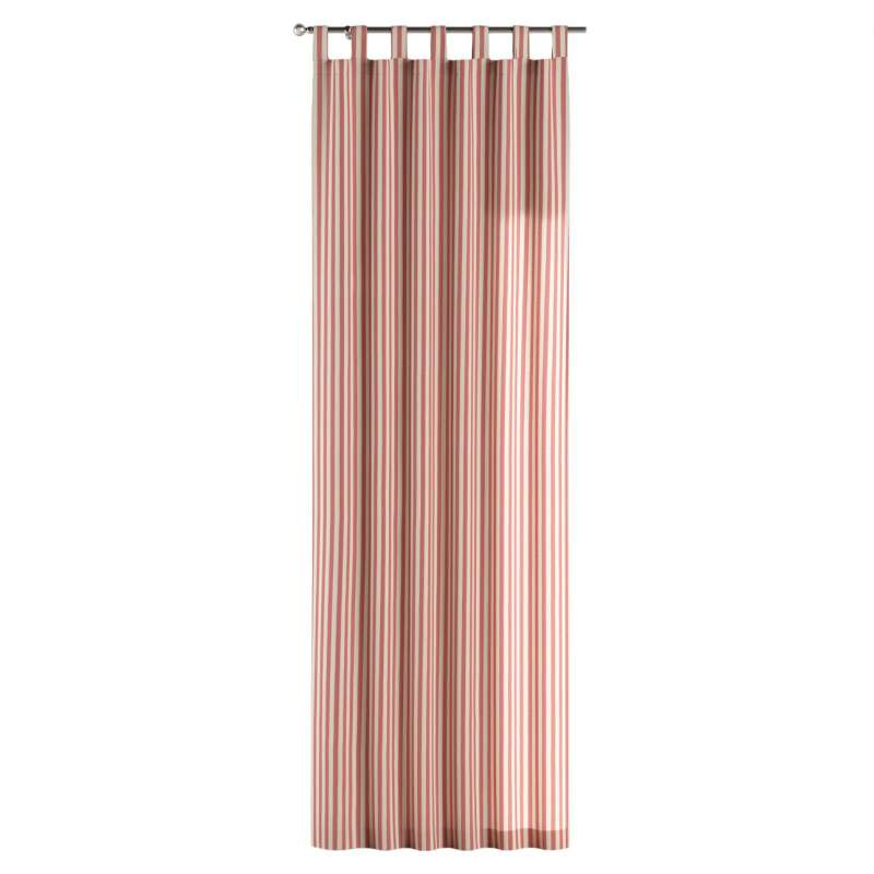 Gardin med stropper 1 stk. fra kollektionen Quadro II, Stof: 136-17