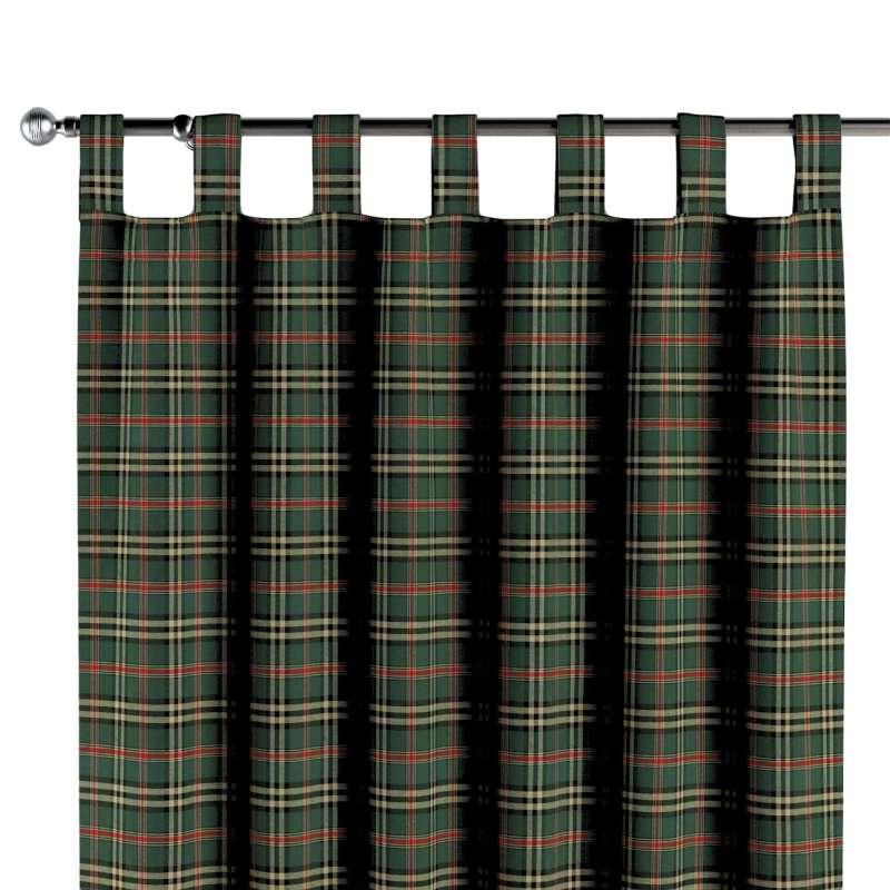 Záves na pútkach V kolekcii Vianočná kolekcia Christmas, tkanina: 142-69