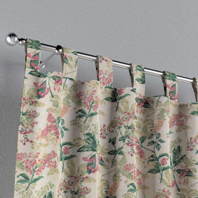 Zasłona na szelkach 1 szt. w kolekcji Londres, tkanina: 143-41