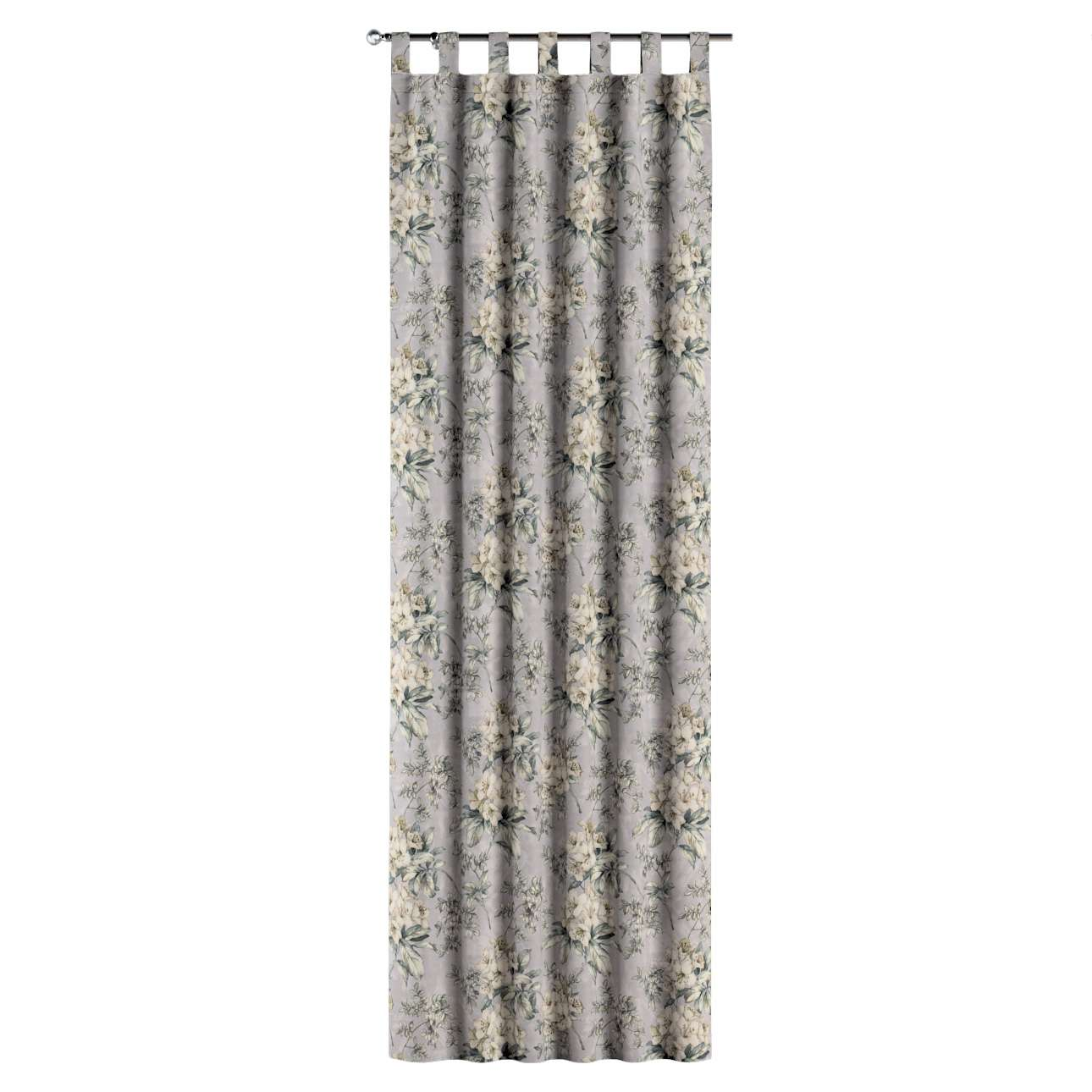 Zasłona na szelkach 1 szt. w kolekcji Londres, tkanina: 143-36