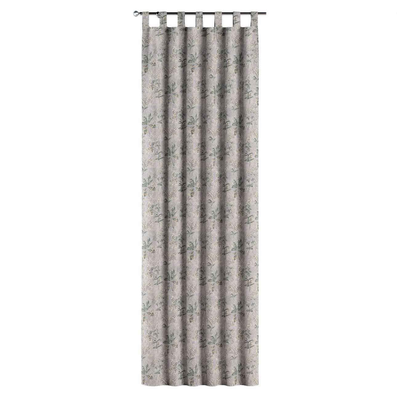 Zasłona na szelkach 1 szt. w kolekcji Londres, tkanina: 143-37