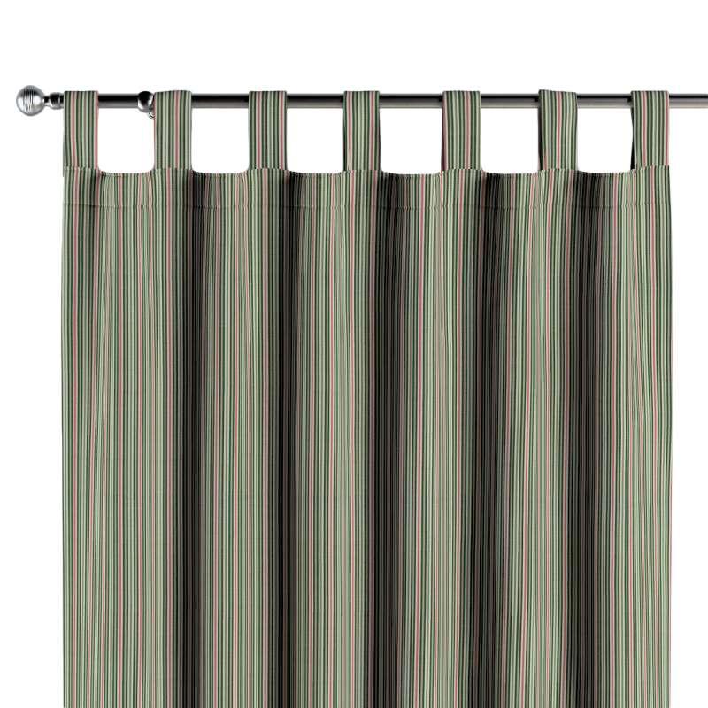 Zasłona na szelkach 1 szt. w kolekcji Londres, tkanina: 143-42