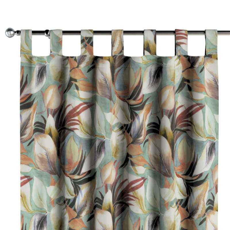 Zasłona na szelkach 1 szt. w kolekcji Abigail, tkanina: 143-61