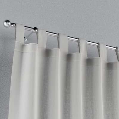 Záves na pútkach V kolekcii Linen, tkanina: 159-06