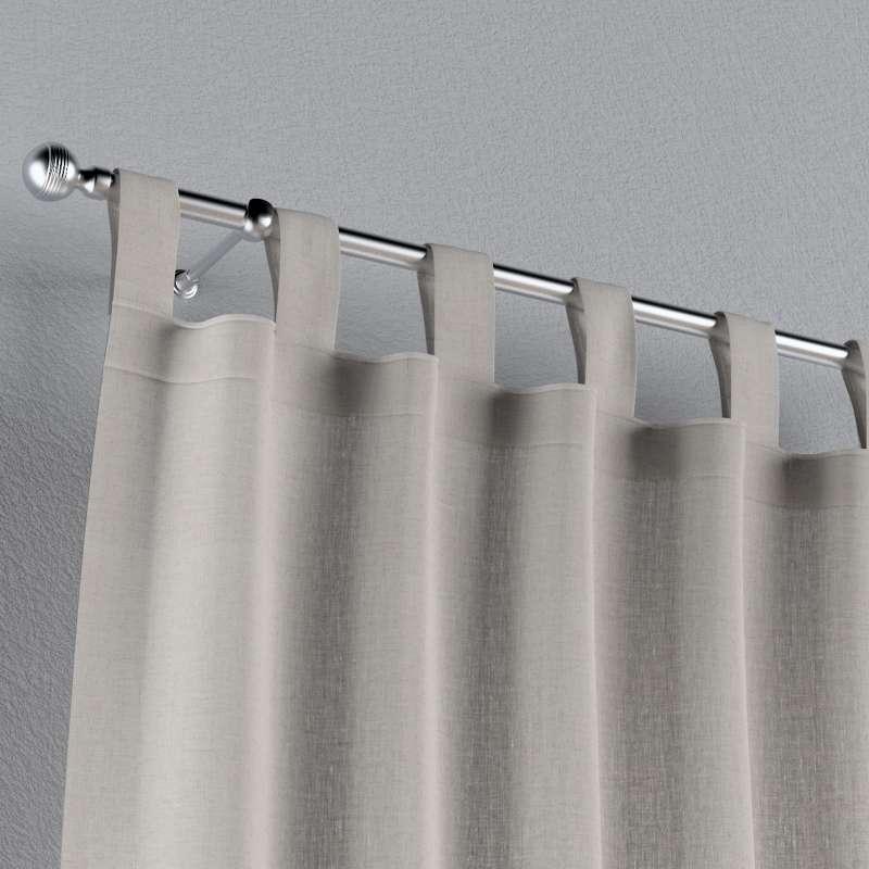 Záves na pútkach V kolekcii Linen, tkanina: 159-07