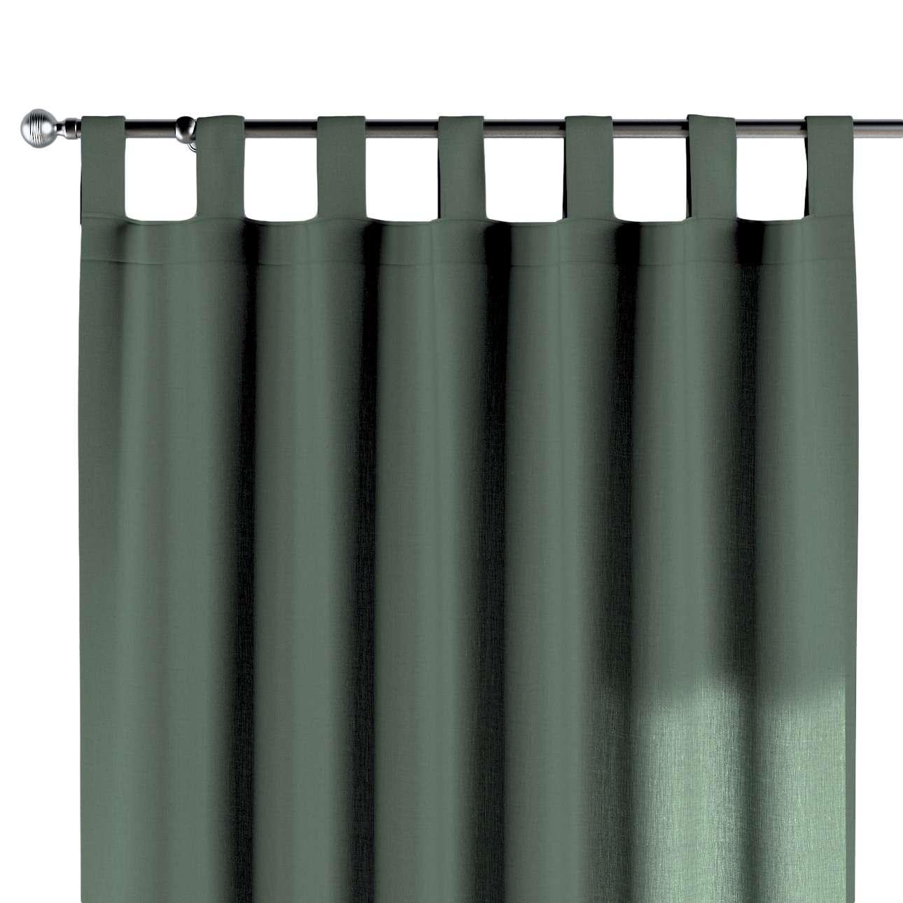 Zasłona na szelkach 1 szt. w kolekcji Linen, tkanina: 159-08
