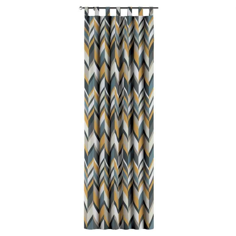 Gardin med stropper 1 stk. fra kolleksjonen Vintage 70's, Stoffets bredde: 143-56