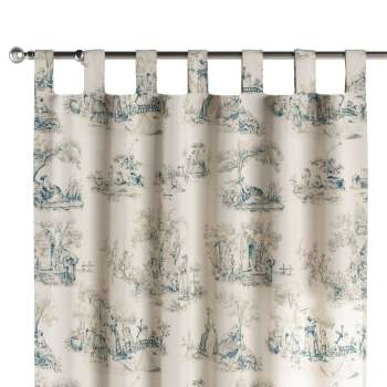 Tab top curtains 130 × 260 cm (51 × 102 inch) in collection Avinon, fabric: 132-66