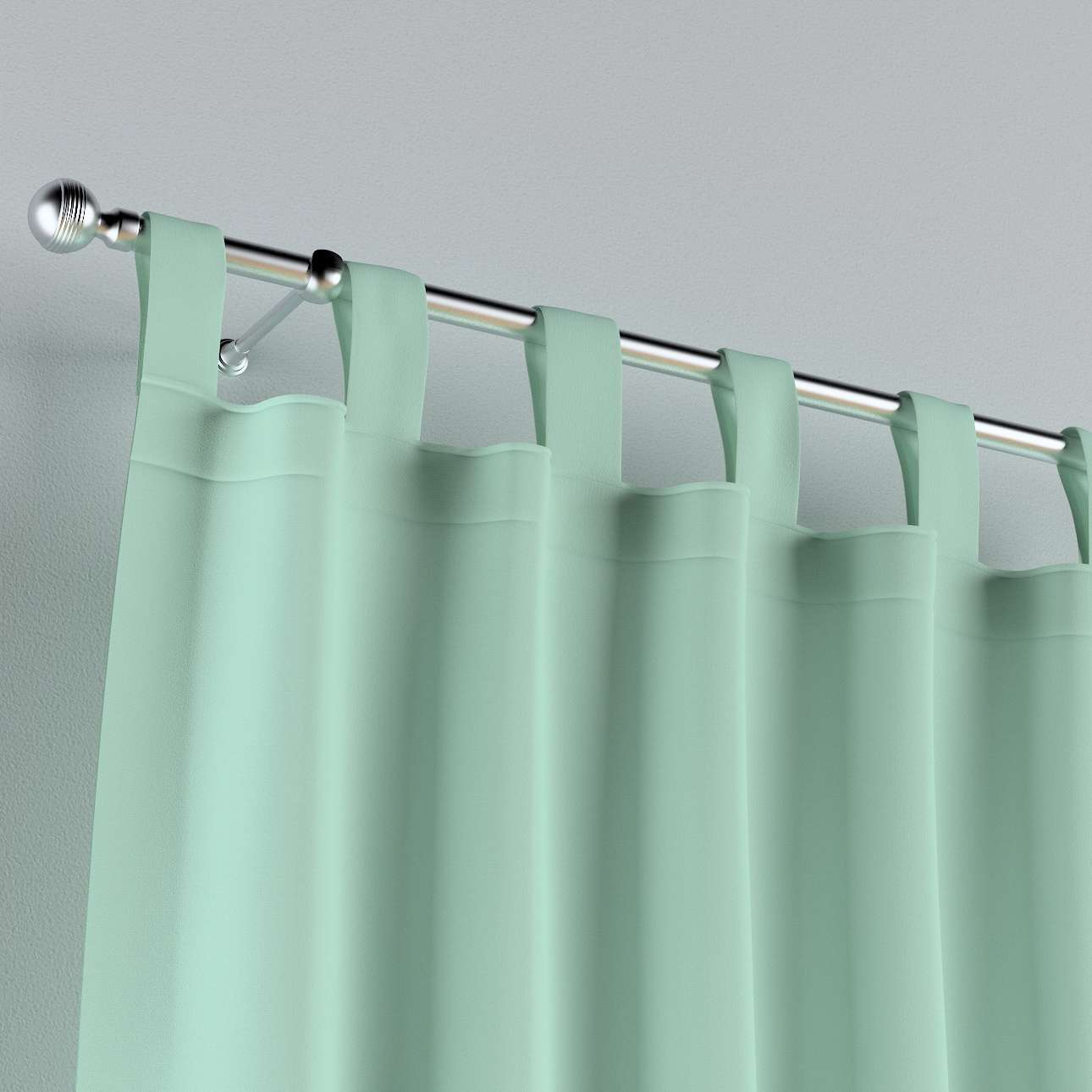 Tab top curtains in collection Happiness, fabric: 133-37