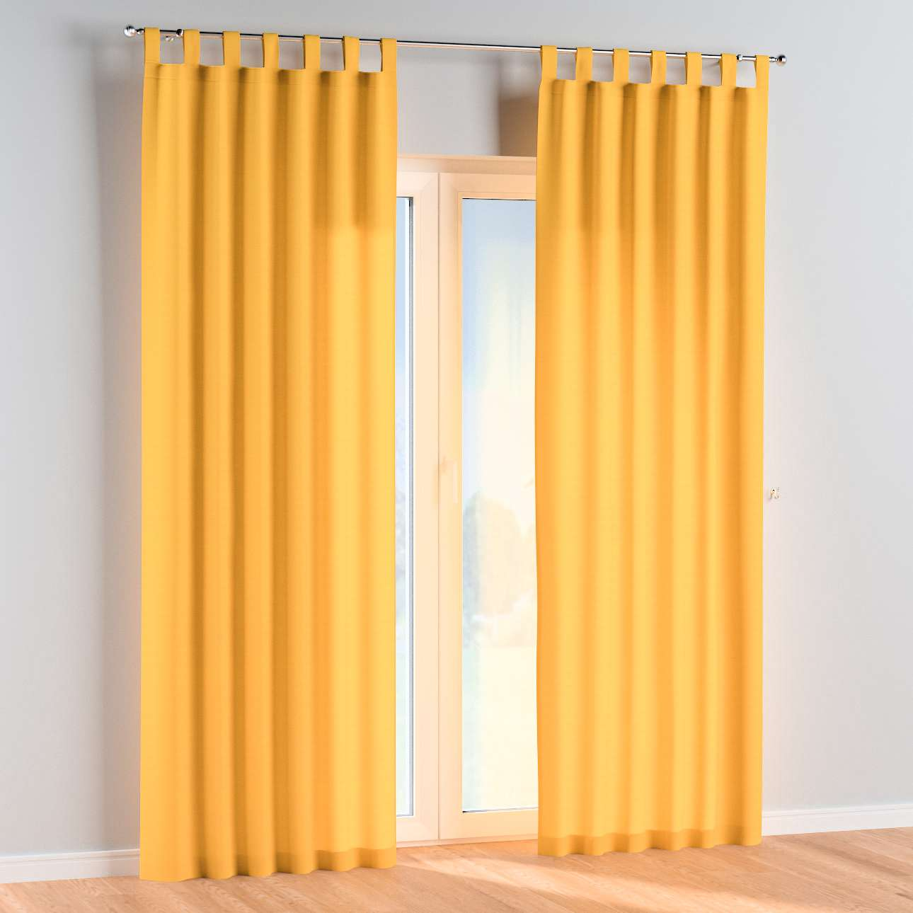Tab top curtains in collection Happiness, fabric: 133-40