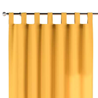 Závěs na poutkách 1 ks 133-40 slunečně žlutá Kolekce Happiness
