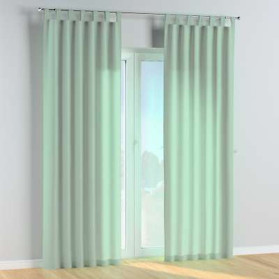 Tab top curtains 133-61 green eucalyptus Collection Happiness