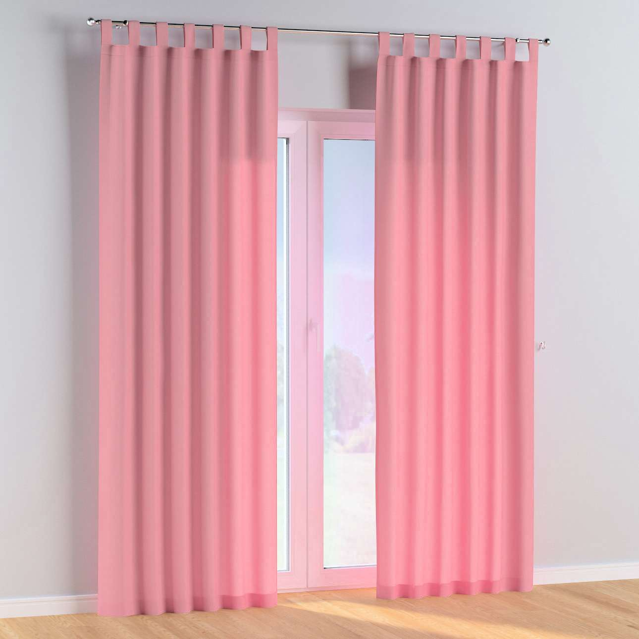 Tab top curtains in collection Happiness, fabric: 133-62