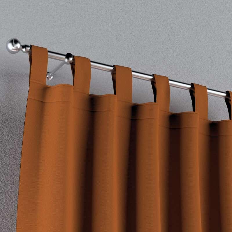 Záves na pútkach V kolekcii Cotton Panama, tkanina: 702-42