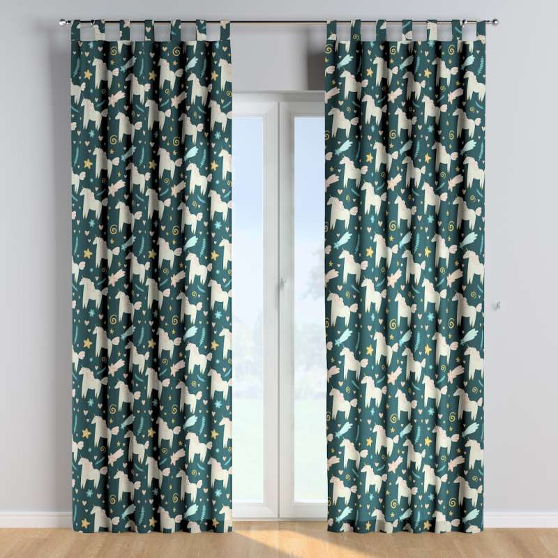 Tab top curtains in collection Magic Collection, fabric: 500-43