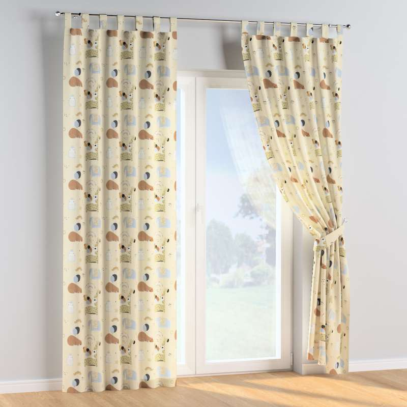 Tab top curtains in collection Magic Collection, fabric: 500-46
