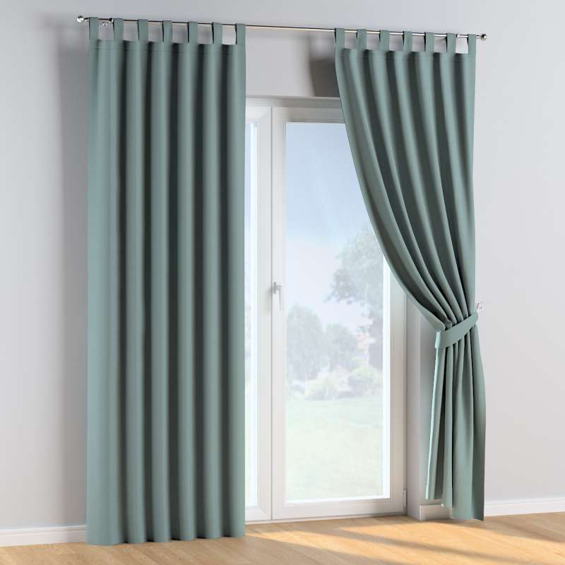 Tab top curtains in collection Cotton Story, fabric: 702-40