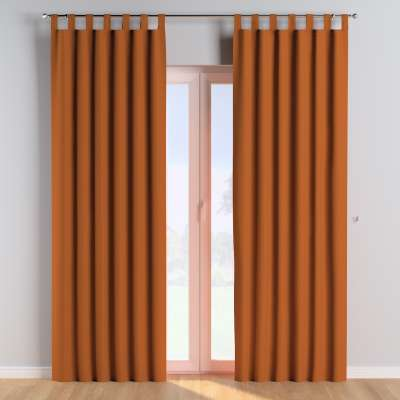 Tab top curtains 702-42 ginger Collection Cotton Story