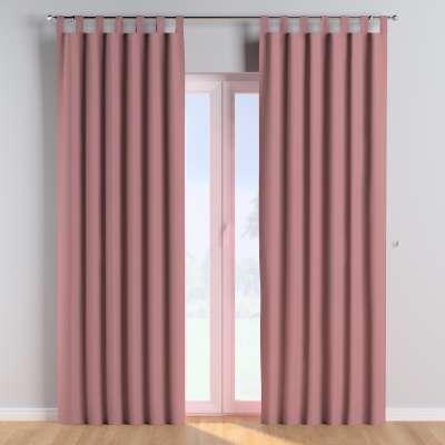 Tab top curtains 702-43 zgaszony róż Collection Cotton Story