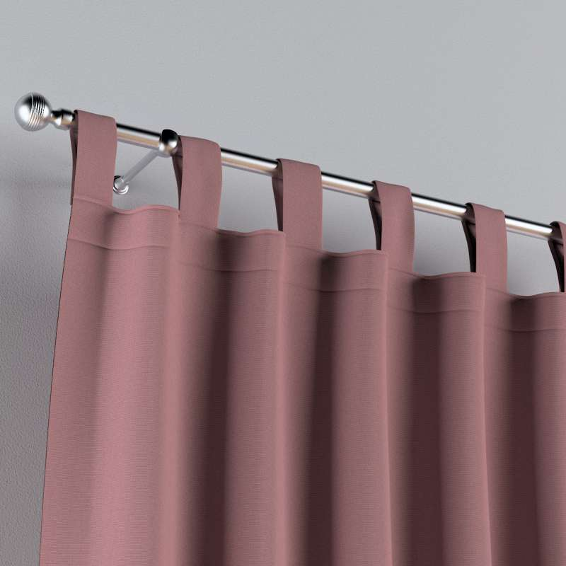 Tab top curtains in collection Cotton Story, fabric: 702-43