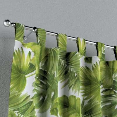 Záves na pútkach V kolekcii Tropical Island, tkanina: 143-63