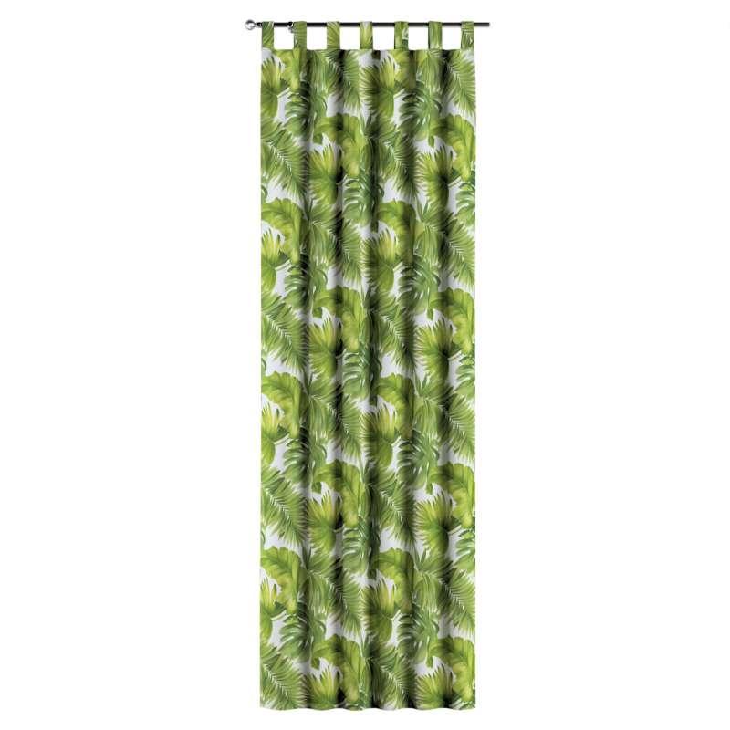 Zasłona na szelkach 1 szt. w kolekcji Tropical Island, tkanina: 143-63