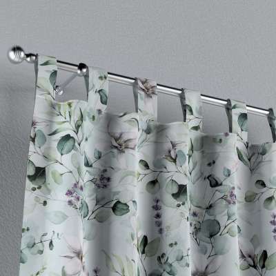 Zasłona na szelkach 1 szt. w kolekcji Flowers, tkanina: 143-66